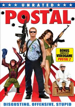 Postal - Unrated - DVD - Used