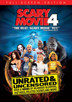 Scary Movie 4 - Full Screen Unrated - DVD - Used
