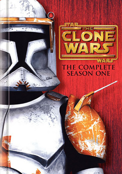 Star Wars The Clone Wars: The Complete Season One - DVD - Used