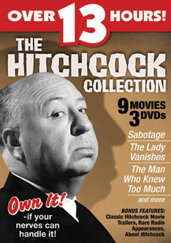 The Hitchcock Collection - Set - DVD - Used