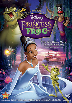The Princess and the Frog - Widescreen - DVD - Used