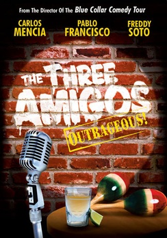 The Three Amigos Uncensored! - DVD - Used