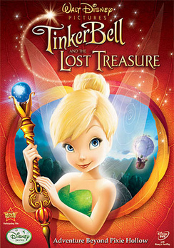 Tinker Bell and the Lost Treasure - Widescreen - DVD - Used