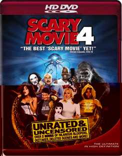 Scary Movie 4 - Unrated - HD DVD - Used
