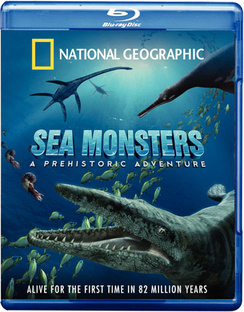 Sea Monsters, A Prehistoric Adventure (IMAX) - Blu-ray - Used