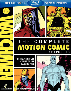 Watchmen: The Complete Motion Comic - Blu-ray - Used