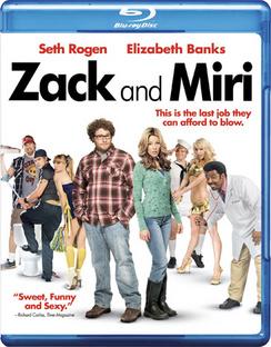 Zack and Miri Make a Porno - Conservative Box Art - Blu-ray - Used
