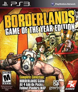 Borderlands Game Of The Year - PS3 - New