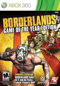 Borderlands Game Of The Year - XBOX 360 - New