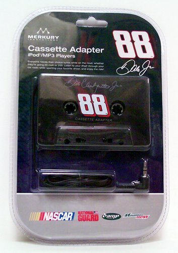 Nascar Cassette Tape Adapter 88 Dale Earnhardt Jr - Music Accessory - New