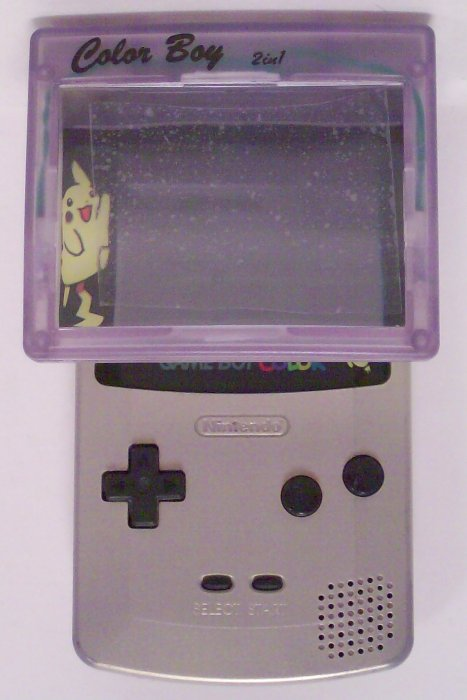 2 In 1 Light And Magnifier For Game Boy Color Game Accessory New