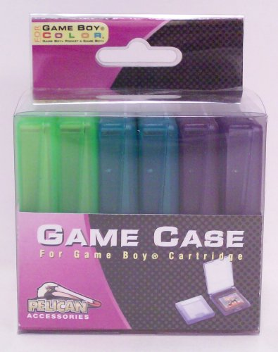 6 Pack Game Cases for Game Boy and Game Boy Color - Game Accessory - New