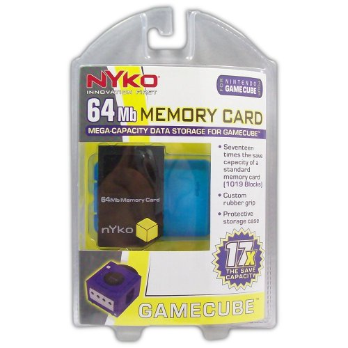 64Mb Memory Card for GameCube - Game Accessory - New