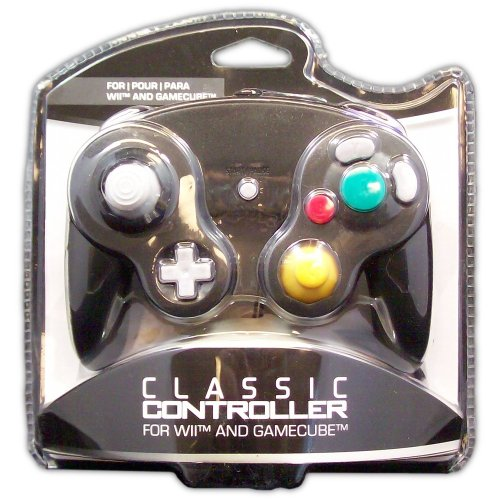 Classic Controller for GameCube and Wii (black) - Game Accessory - New