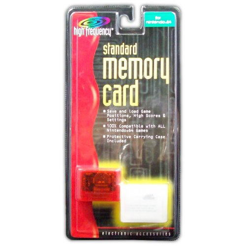 Memory Card for N64 (orange) - Game Accessory - New