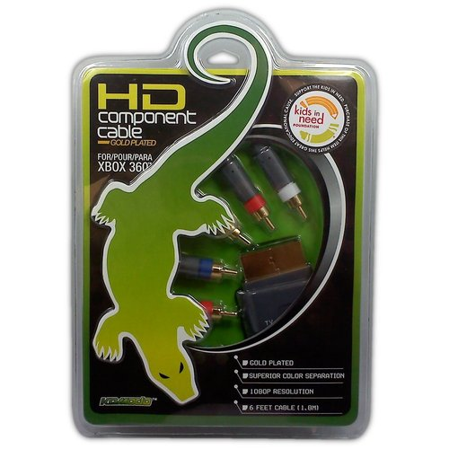 HD Component Cable for XBOX 360 - Game Accessory - New