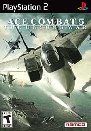 Ace Combat 5: The Unsung War - PS2 - Used