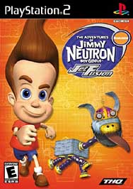 Adventures of Jimmy Neutron, Boy Genius: Jet Fusion - PS2 - Used