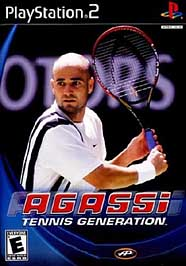 Agassi Tennis Generation - PS2 - Used