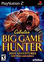 Cabela's Big Game Hunter: 2005 Adventures - PS2 - Used