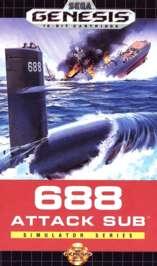 688 Attack Sub - Sega Genesis - Used