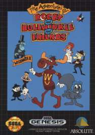 Adventures of Rocky and Bullwinkle and Friends - Sega Genesis - Used