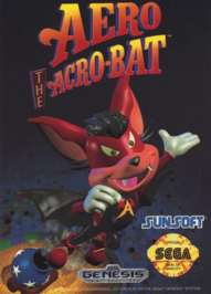 Aero the Acrobat - Sega Genesis - Used