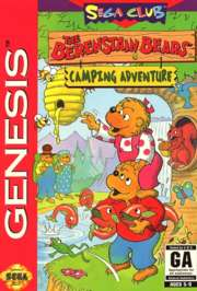 Berenstain Bears: Camping Adventure - Sega Genesis - Used