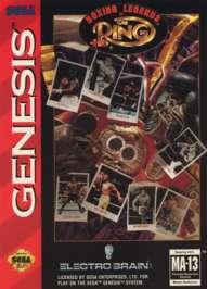 Boxing Legends of the Ring - Sega Genesis - Used