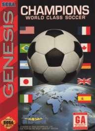 Champions World Class Soccer - Sega Genesis - Used