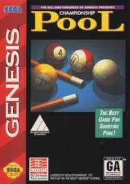 Championship Pool - Sega Genesis - Used