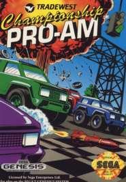 Championship Pro-AM - Sega Genesis - Used