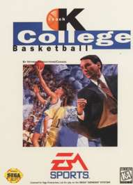 Coach K College Basketball - Sega Genesis - Used