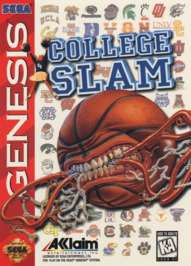 College Slam - Sega Genesis - Used