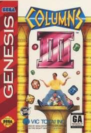 Columns III - Sega Genesis - Used