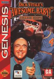 Dick Vitale's Awesome Baby! College Hoops - Sega Genesis - Used