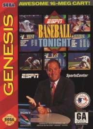 ESPN Baseball Tonight - Sega Genesis - Used