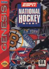 ESPN National Hockey Night - Sega Genesis - Used