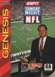 ESPN Sunday Night NFL - Sega Genesis - Used
