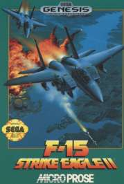 F-15 Strike Eagle II - Sega Genesis - Used