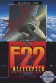 F-22 Interceptor - Sega Genesis - Used
