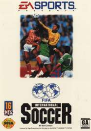 FIFA International Soccer - Sega Genesis - Used
