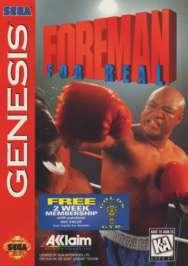 Foreman For Real - Sega Genesis - Used
