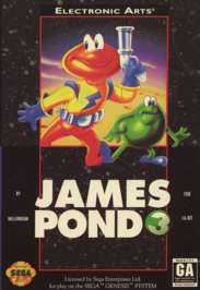 James Pond 3: Operation Starfish - Sega Genesis - Used