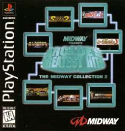 Arcade's Greatest Hits: The Midway Collection 2 - PlayStation - Used