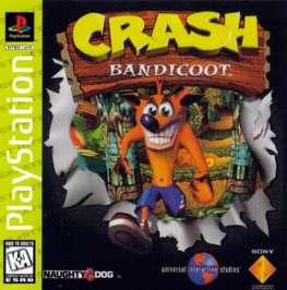 Crash Bandicoot - PlayStation - Used