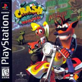 Crash Bandicoot: Warped - PlayStation - Used