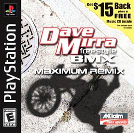 Dave Mirra Freestyle BMX: Maximum Remix - PlayStation - Used