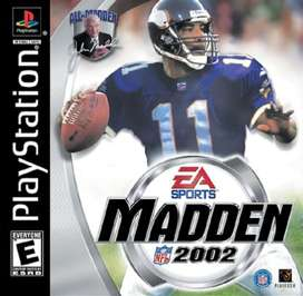 Madden NFL 2002 - PlayStation - Used