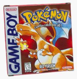 Pokemon Red - Game Boy - Used